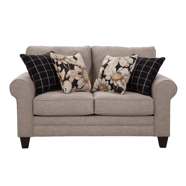 2-Piece Cosmos Sofa and Loveseat