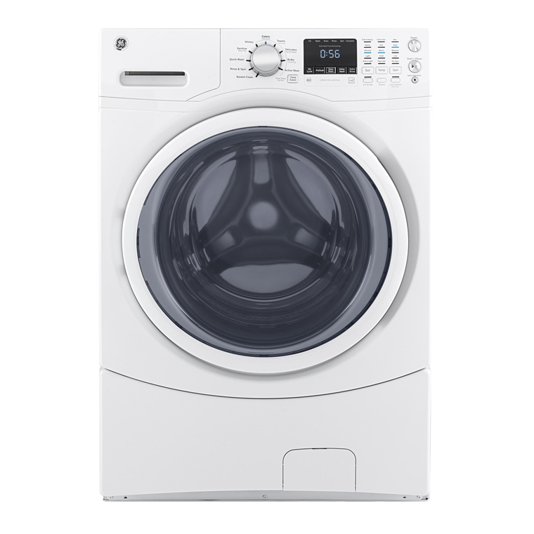 4.5 cu.ft. Front Load Energy Star Washer & 7.5 cu.ft. Gas Dryer with Pedestals
