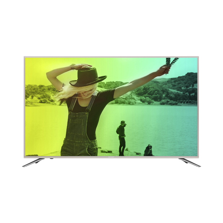 "Smart TV UHD Sharp Aquos de 60"" y 4K Class (59.5"" en Diag.)"