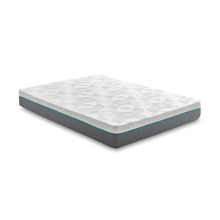 "10"" Tight Top Firm Twin Hybrid Boxed Mattress"