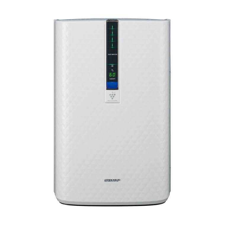 Plasmacluster Air Purifier with Humidification