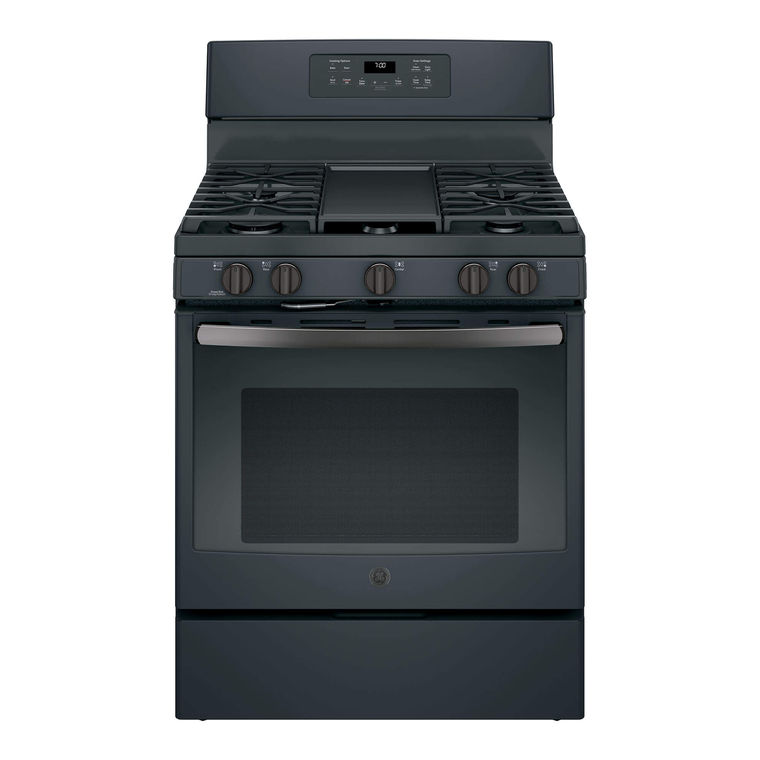 5.0 cu. ft. Self Cleaning Gas Convection Range - Slate