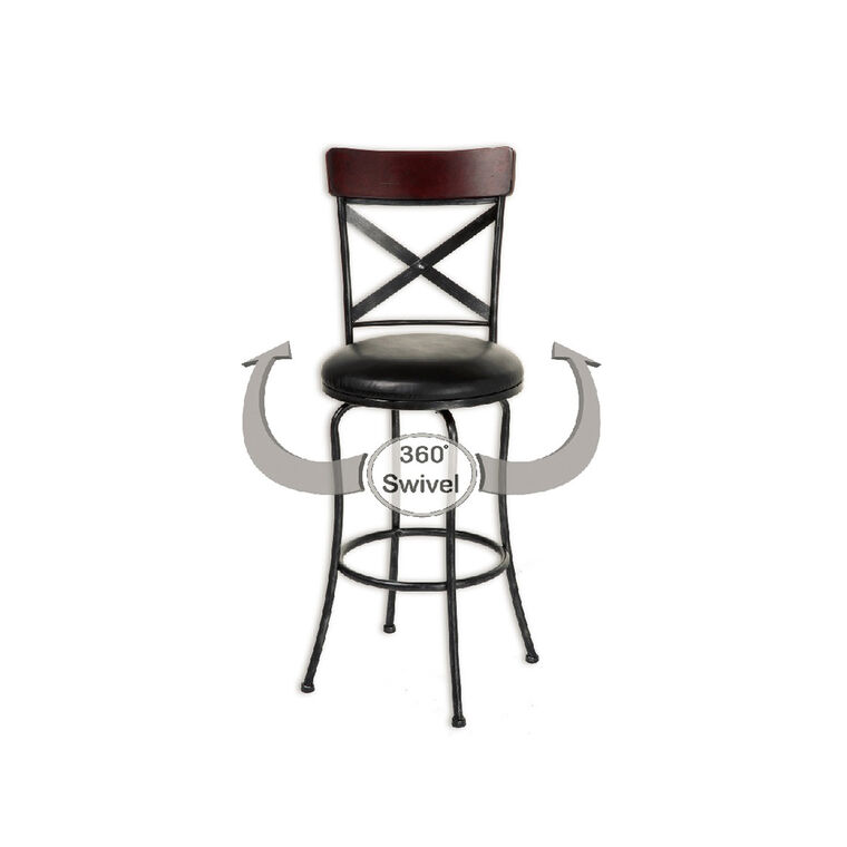 "Pair of Austin 26"" Bar Stools"