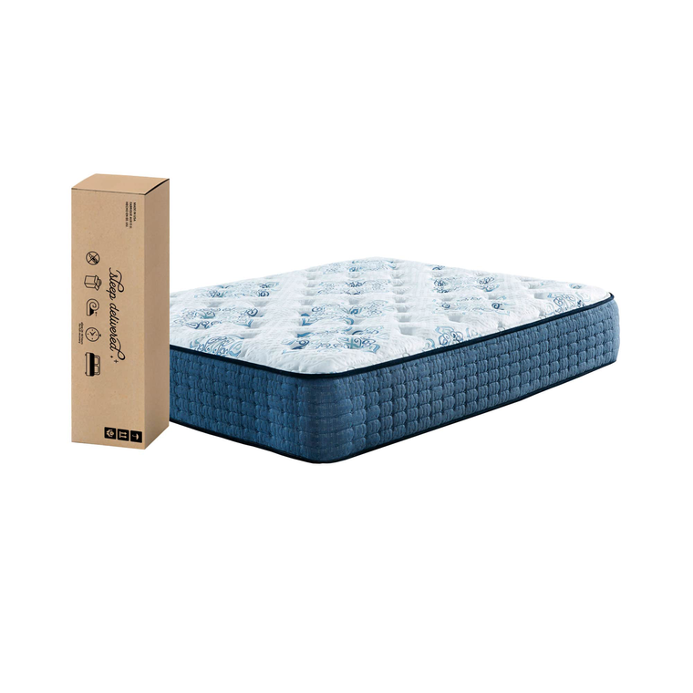 "15"" Tight Top Firm Twin Innerspring Boxed Mattress"