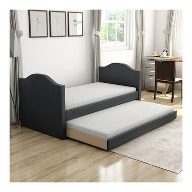 Bellflower Twin Daybed w/Trundle - Black