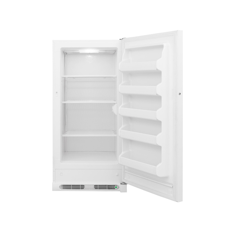 14 cu. ft. Upright Freezer - White