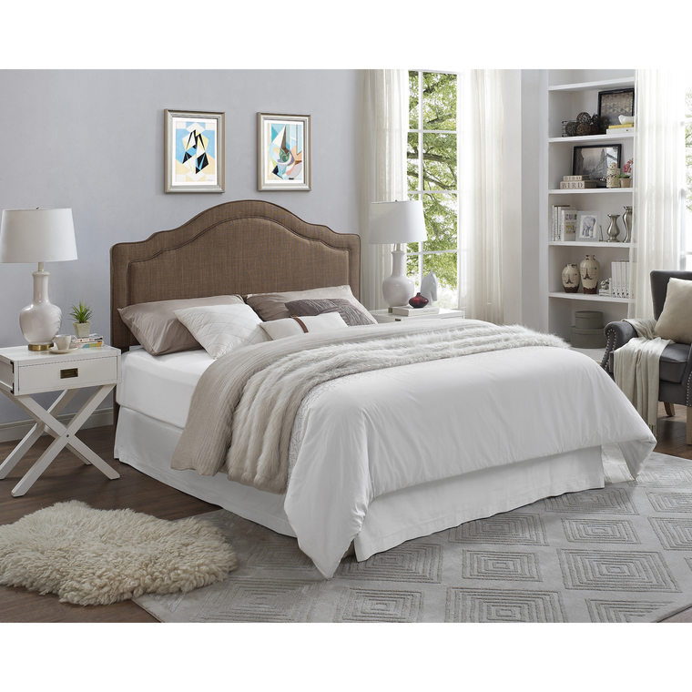 Queen Headboard with Base & Mattress Set | Tuggl
