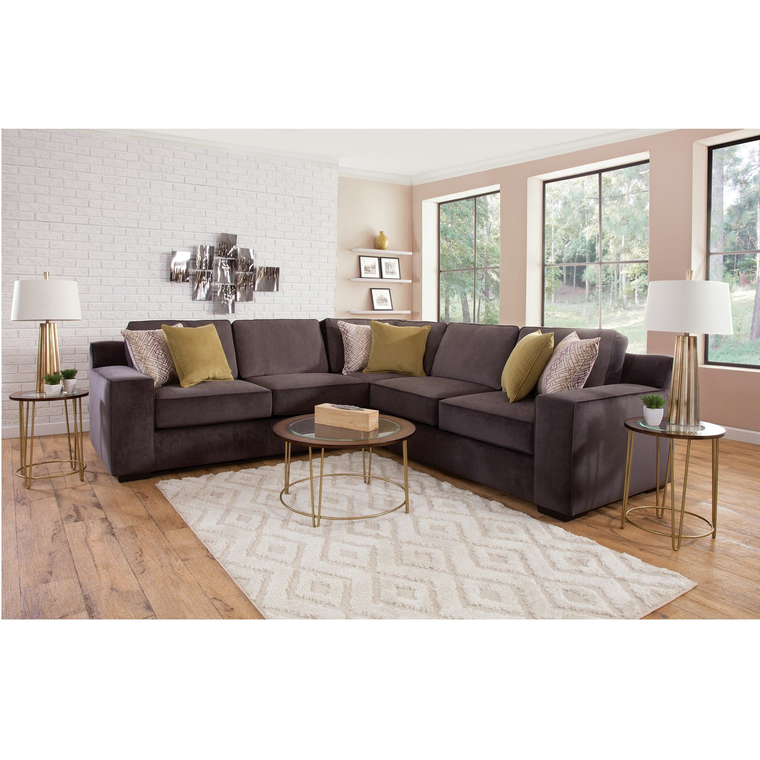 8-Piece Sonja Sectional Living Room Collection with Cocktail Table