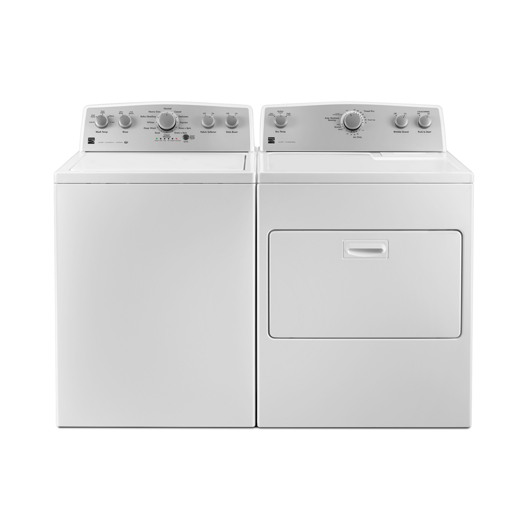 High Efficiency 4.3 cu. ft. Top-Load Washer & 7.0 cu. ft. Electric Dryer at Aaron's in Lincoln Park, MI | Tuggl