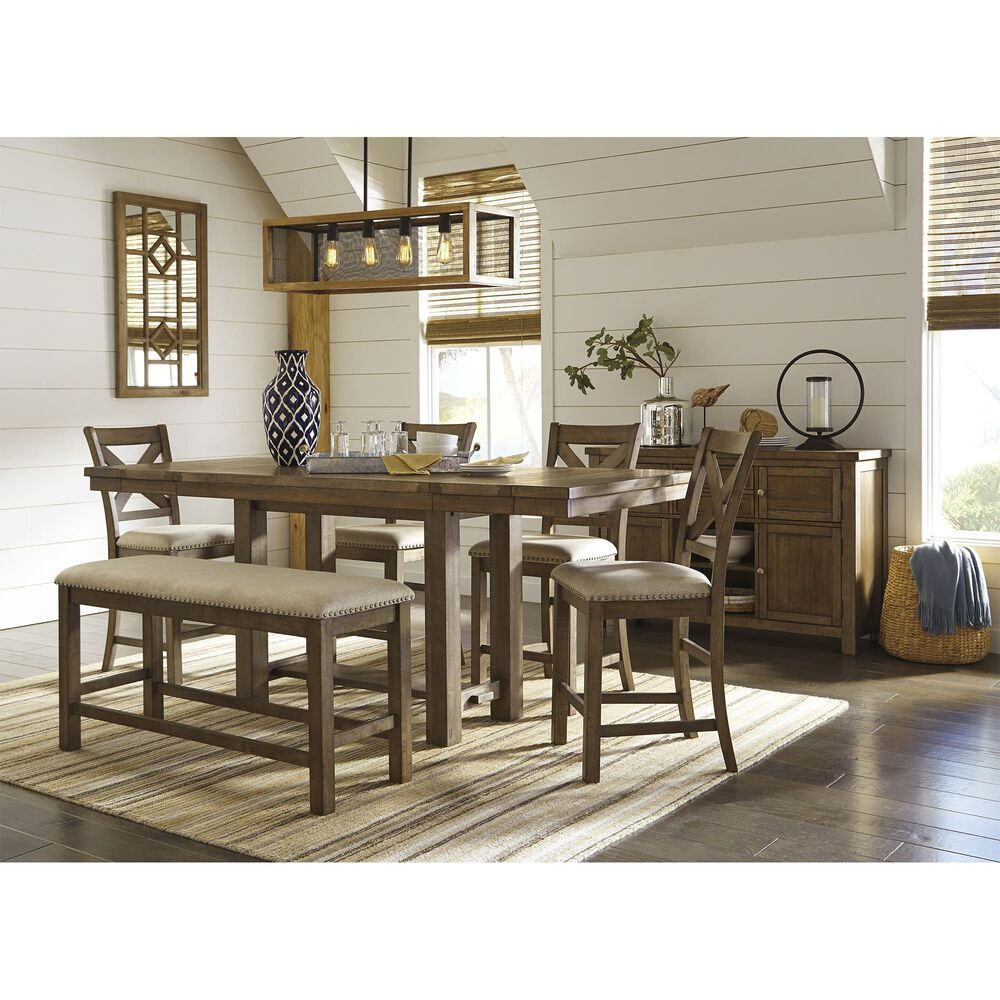 Ashley Home Furniture Store Hours: Ashley Furniture Ind. Dining Sets 7-Piece Moriville Dining