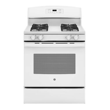 5.0 cu. ft. Self Cleaning Gas Range - White