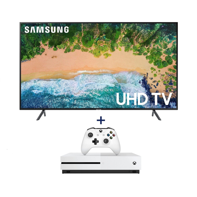 "Paquete de Smart TV UHD 4K de 55"" Class ​​​​​​​ (54.6"" en Diag.) y  Xbox One S de 1 TB"