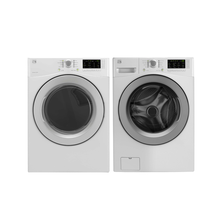 High Efficiency 4.8 cu. ft. Top-Load Washer & 7.0 cu. ft. Electric Dryer