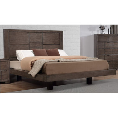 5-Piece Logic Queen Bed Only w/ Beautyrest Tight Top Medium Firm Mattress