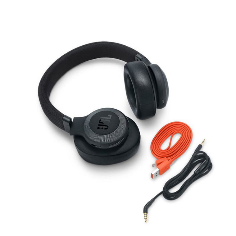 JBL E65BTNC Bluetooth Over-Ear, Noise-Canceling Headphones (Matte Black) | Tuggl