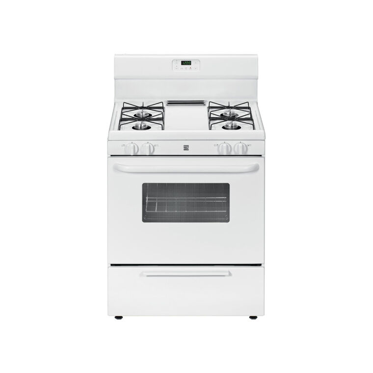 4.2 cu. ft. Gas Range - White
