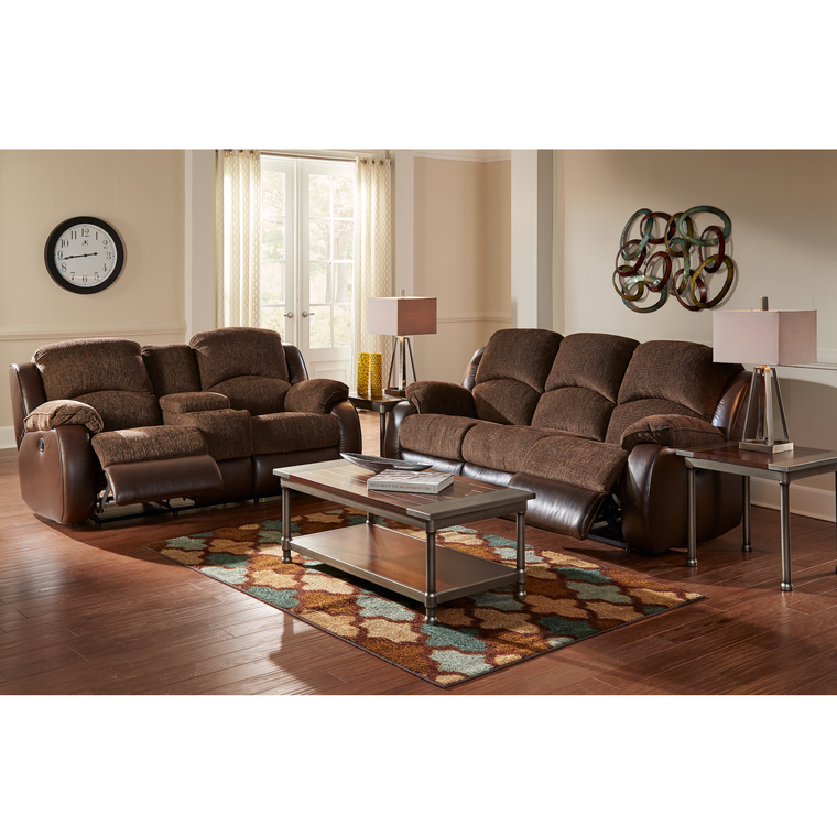 2-Piece Memphis Reclining Living Room Collection at Aaron's in Lincoln Park, MI | Tuggl
