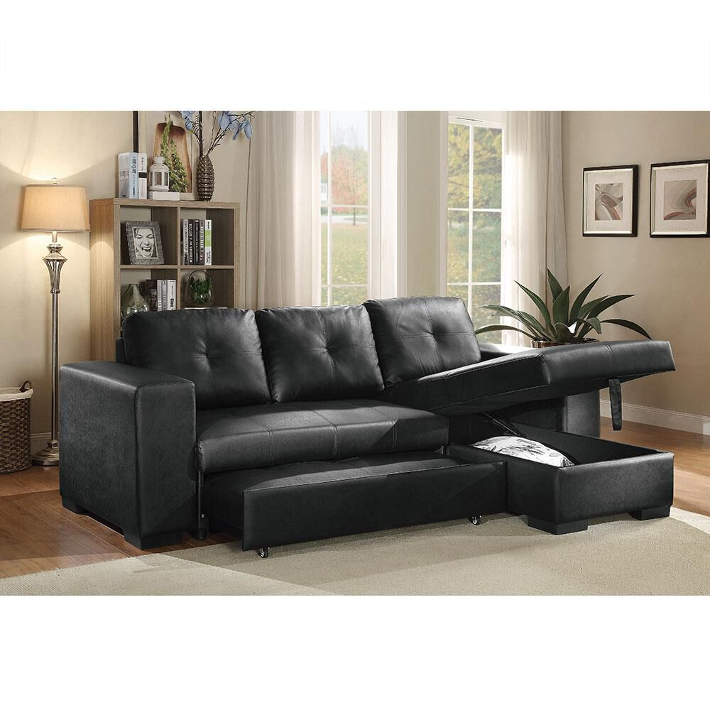 To Own Acme Furniture 2 Piece Lloyd Sectional Sleeper