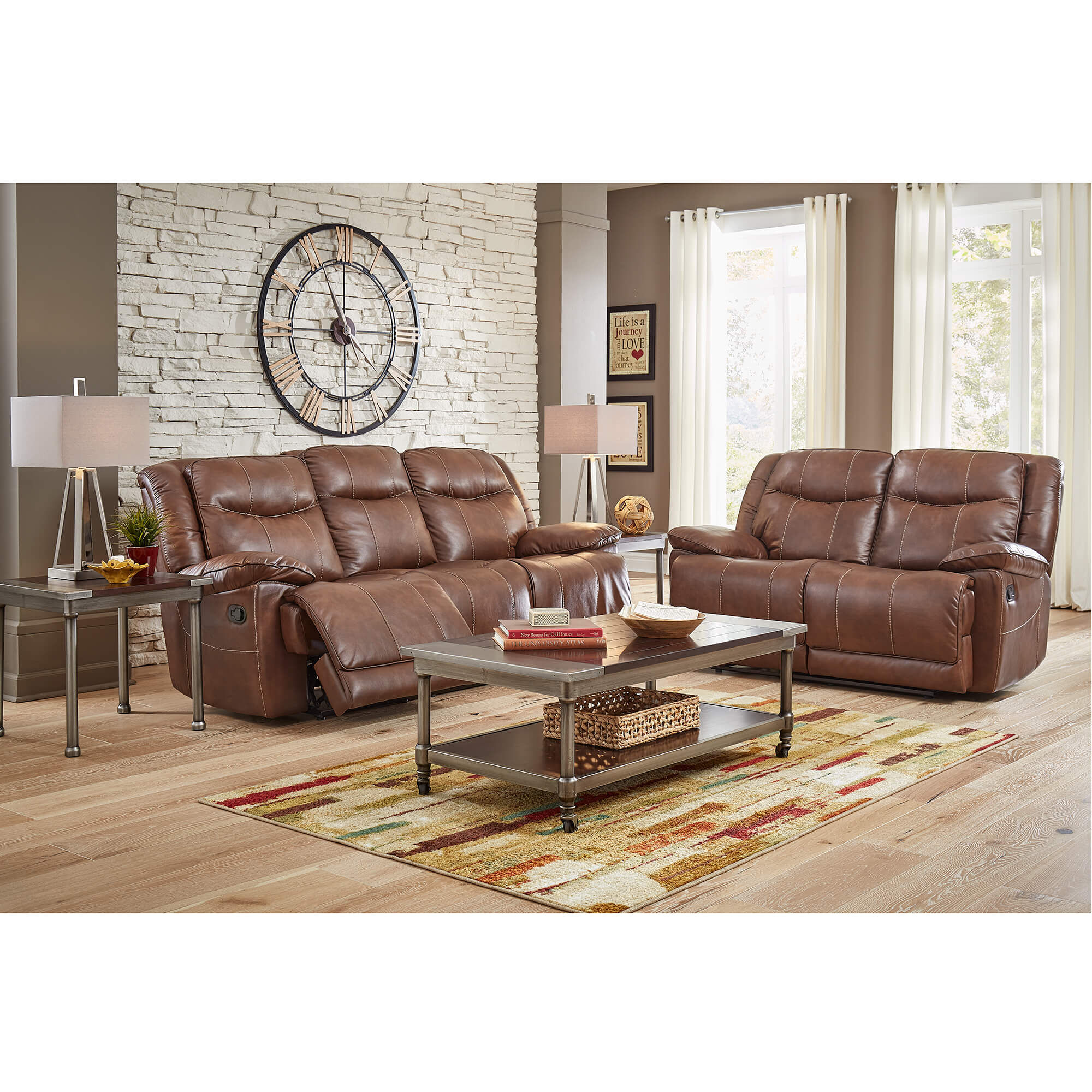 Delicieux 2 Piece Barron Reclining Living Room Collection