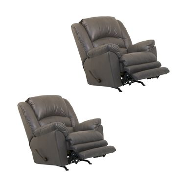 2 Big Man Rocker Recliners Bundle
