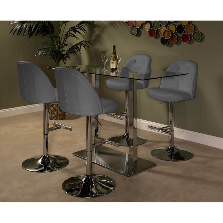 5-Piece High Country Archer Dining Set - Gray