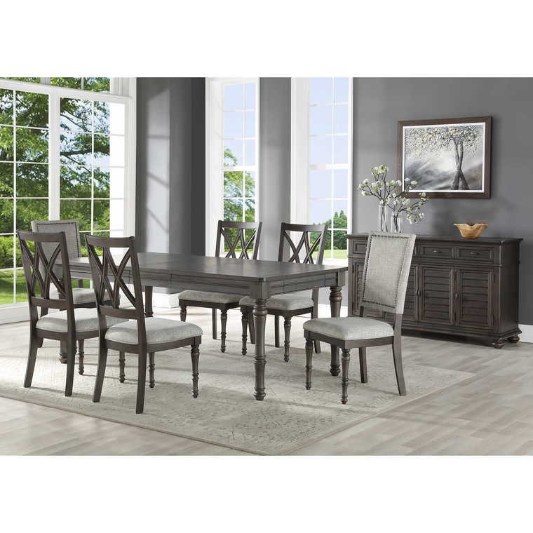 8-Piece Linnett Dining Room Collection with Server