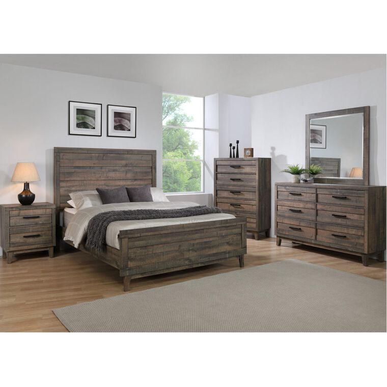 7-Piece Tacoma Bedroom w/King Bed