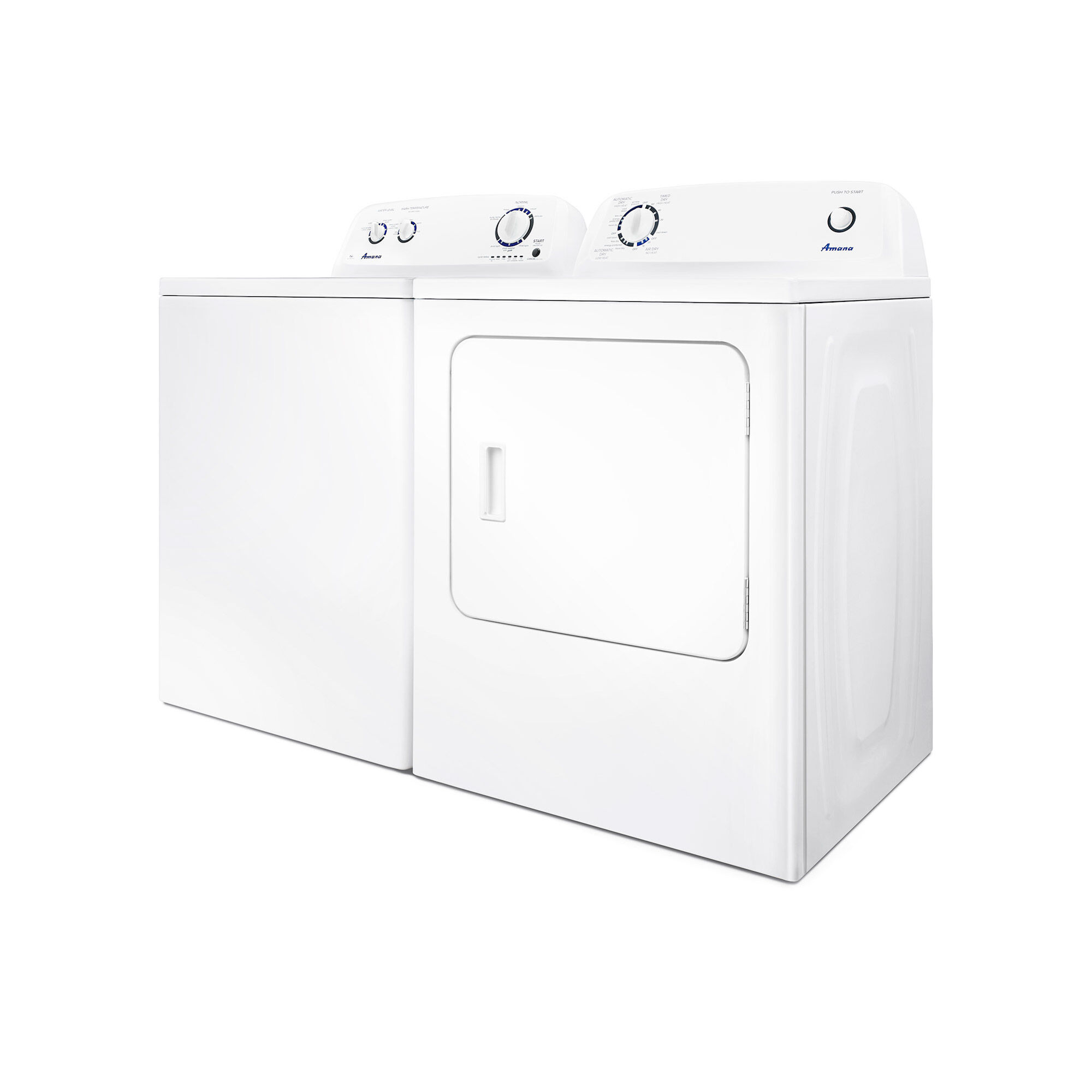 Amana Washers Dryers 35 cu ft Washer 65 cu ft Electric Dryer