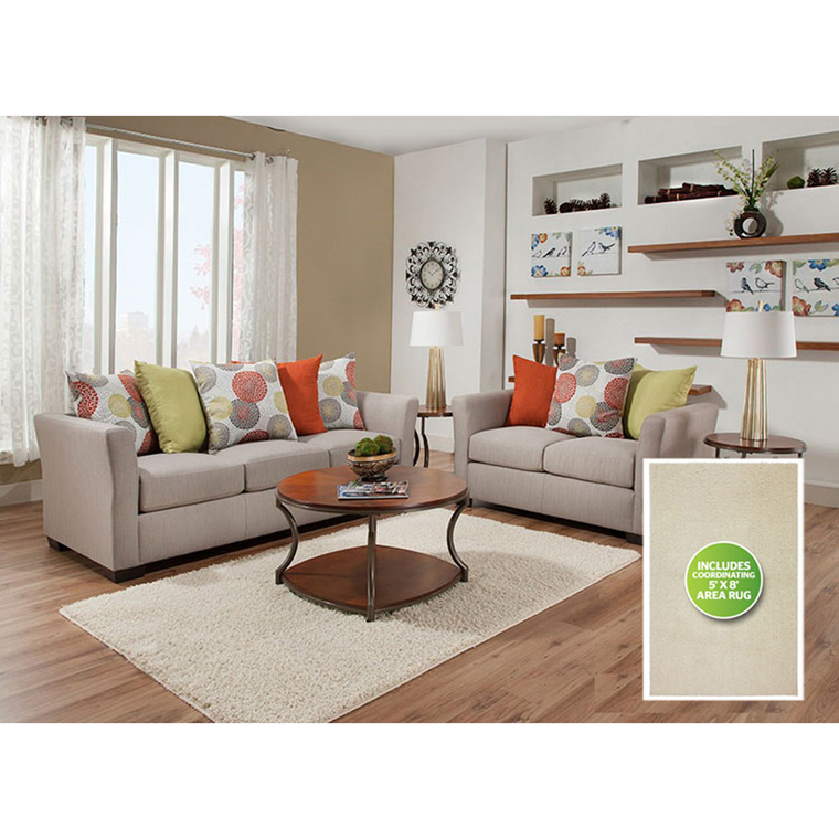 8-Piece Ember Living Room Collection | Tuggl