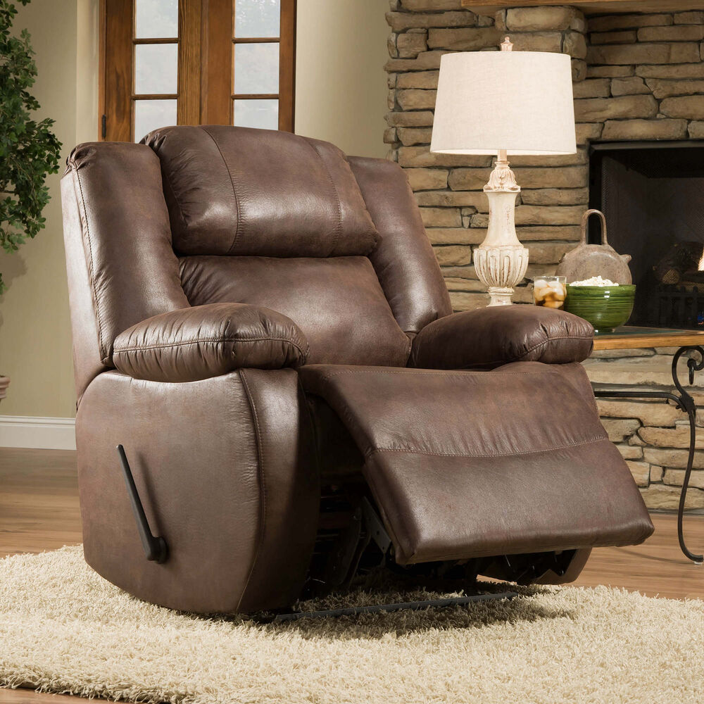 Reclinables y butacas franklin sill n reclinable comfort for Sillon reclinable