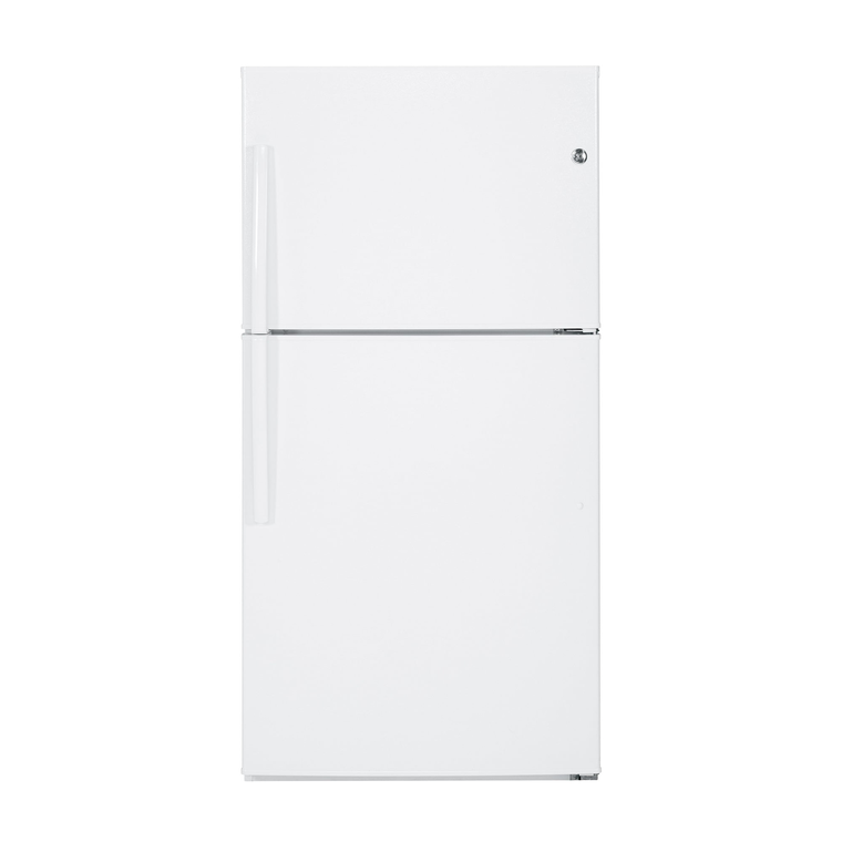 21.2 cu. ft. Energy Star Top Mount Refrigerator - White