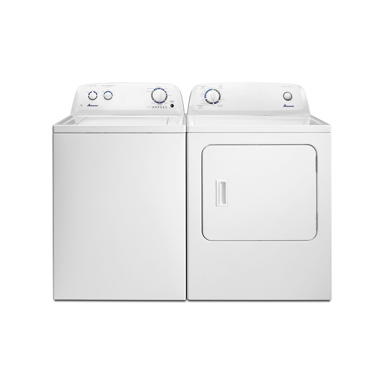 3.5 cu. ft. Washer & 6.5 cu. ft. Gas Dryer