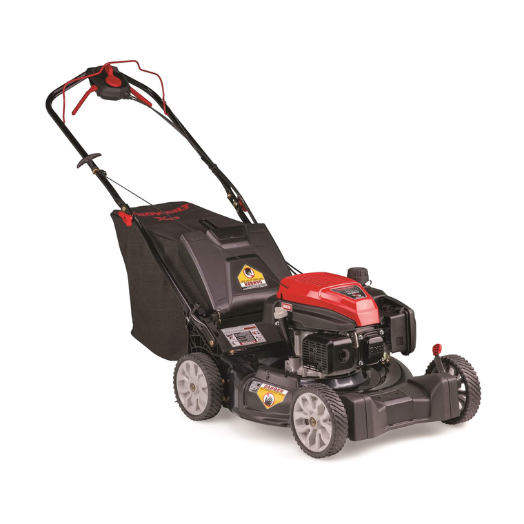 """21"""" Self Propelled High Wheel Push Mower with OHV Engine"""
