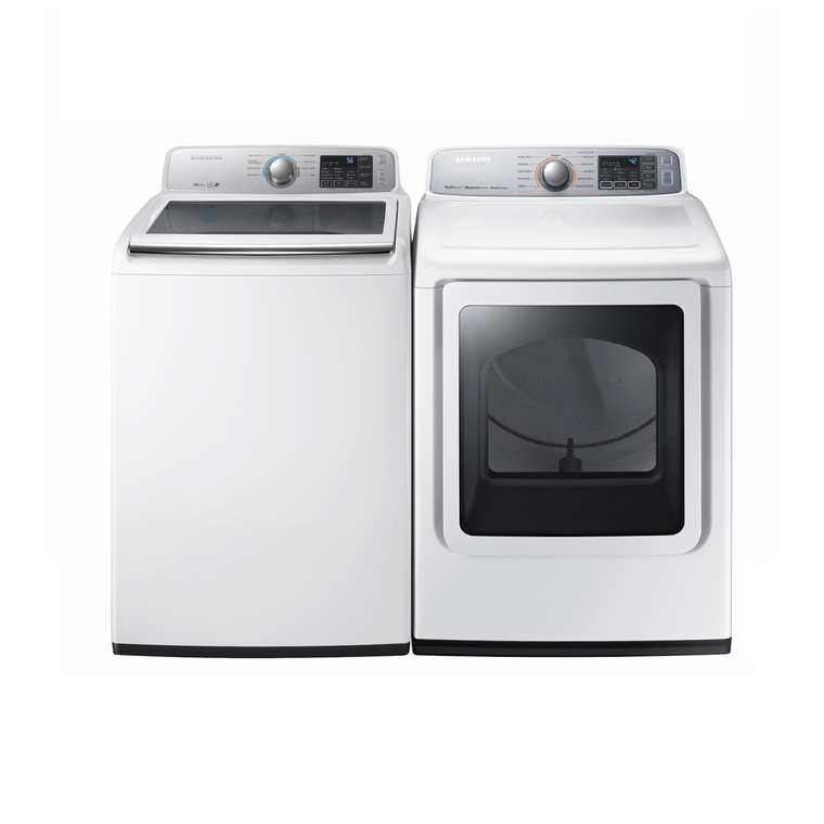 4.5 cu. ft. Energy Star Top Load Washer &  7.4 cu. ft. Electric Steam Dryer