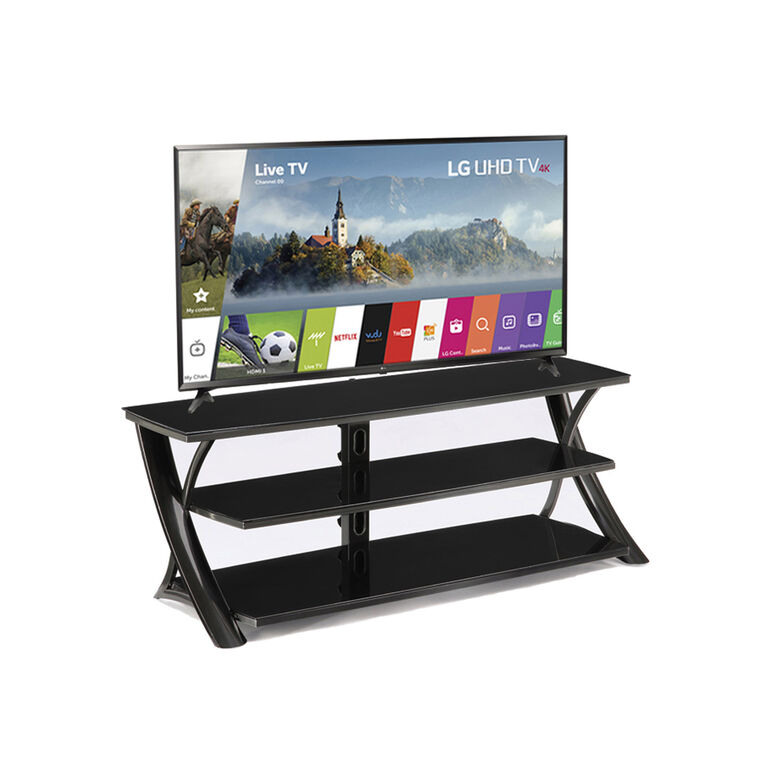 """65"""" Class Smart 4K UHD TV with 65"""" TV Stand"""