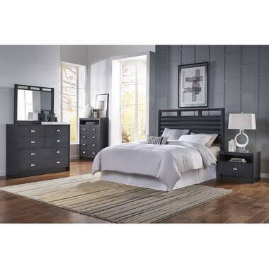 8-Piece Soho Queen Bedroom Collection With Pillow Top Mattress