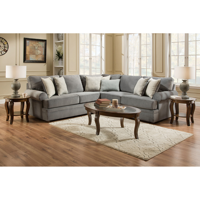 7-Piece Naeva Living Room Collection | Tuggl