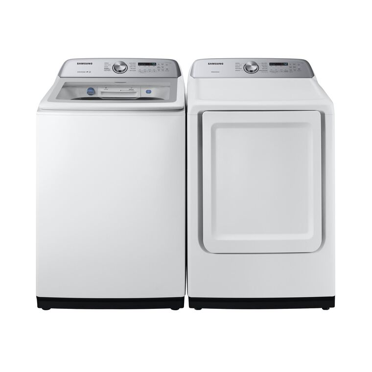 5.0 cu. ft. Energy Star Top Load Washer &  7.4 cu. ft. Gas Dryer