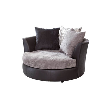 Jamal Swivel Barrel Chair