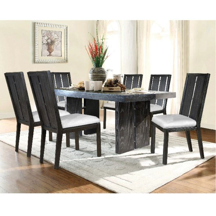 Great 7 Piece City Light Dining Room Collection