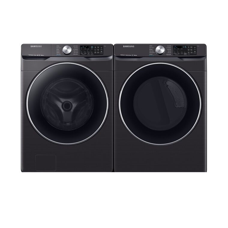 4.5 cu. ft. Energy Star Front Load Steam Washer &  7.5 cu. ft. Gas Steam Dryer