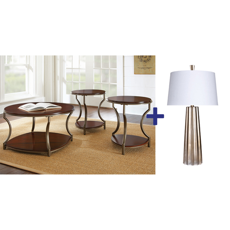 5-Piece Maryland Living Room Accessory Set | Tuggl