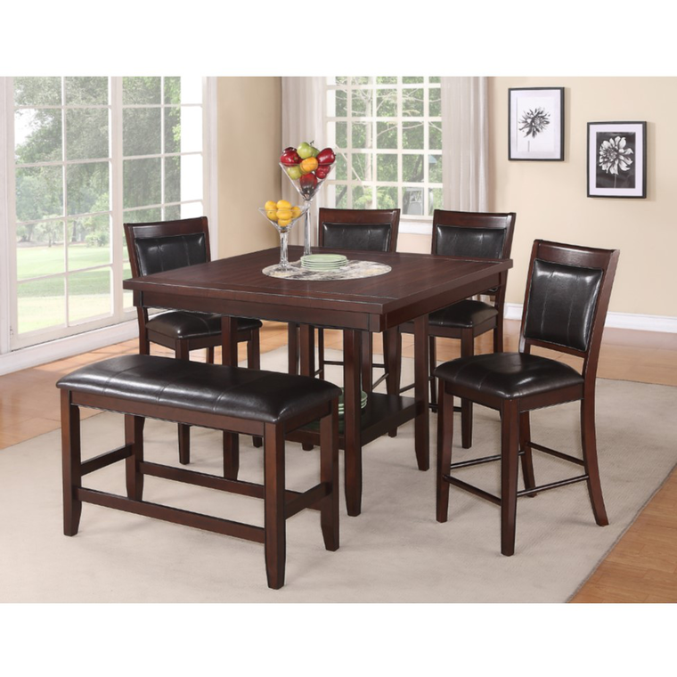 6-Piece Fulton Counter Height Dining Set