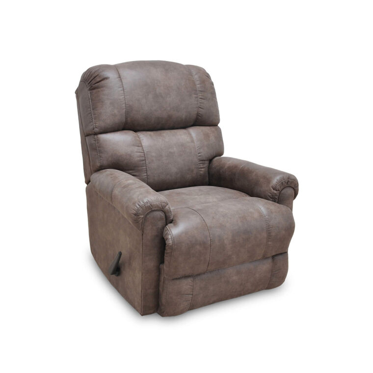 Captain Faux Leather Recliner