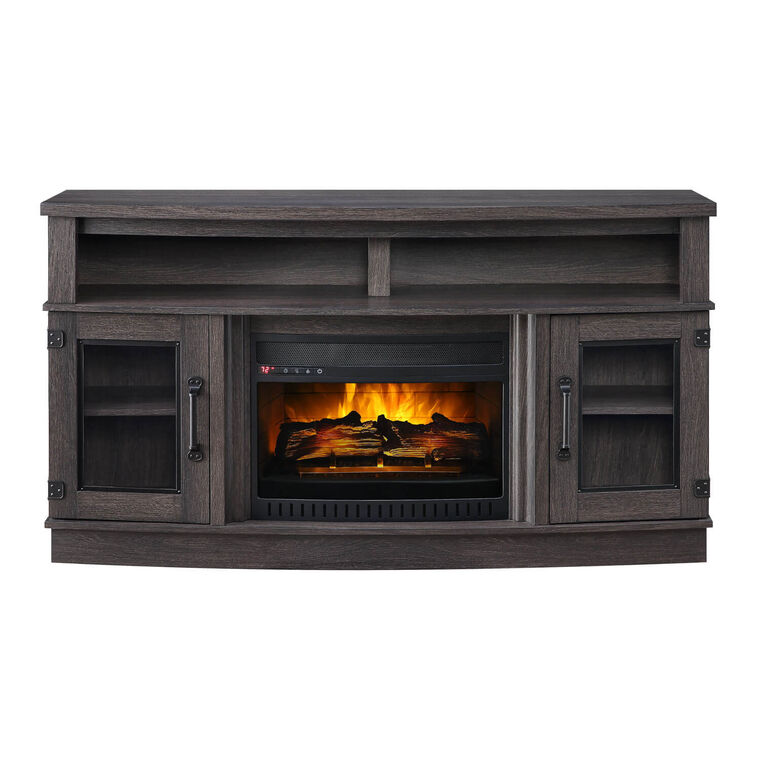 "60"" Fireplace TV Console with 23"" Firebox"