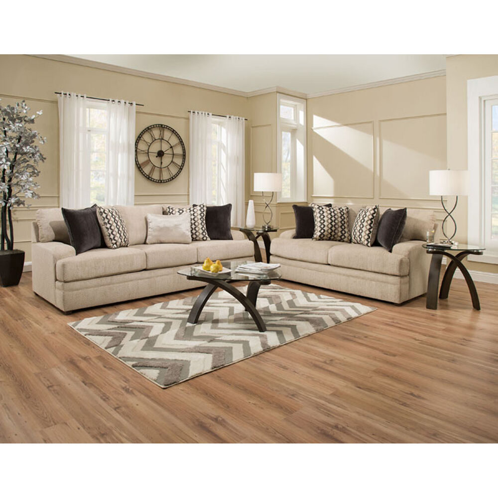 7 Piece Living Room Set : United Living Room Sets 7-Piece Taylor Living Room Collection