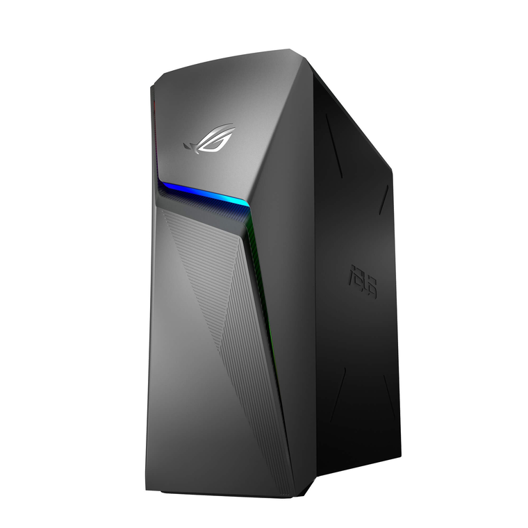 "ROG Strix GL10 Gaming Desktop with 22"" Gaming Monitor Microsoft Office 365 Personal and Total Defense Internet Security"