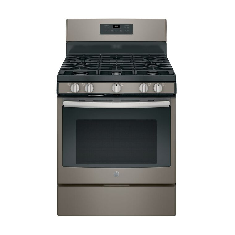 5.0 cu. ft. Self Clean 5 Burner Gas Range - Slate