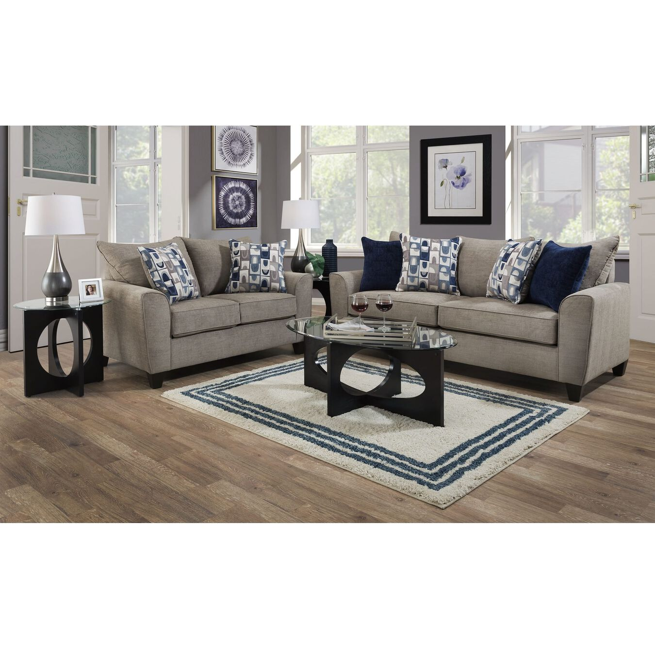 United sofa loveseat sets 2 piece eden living room collection