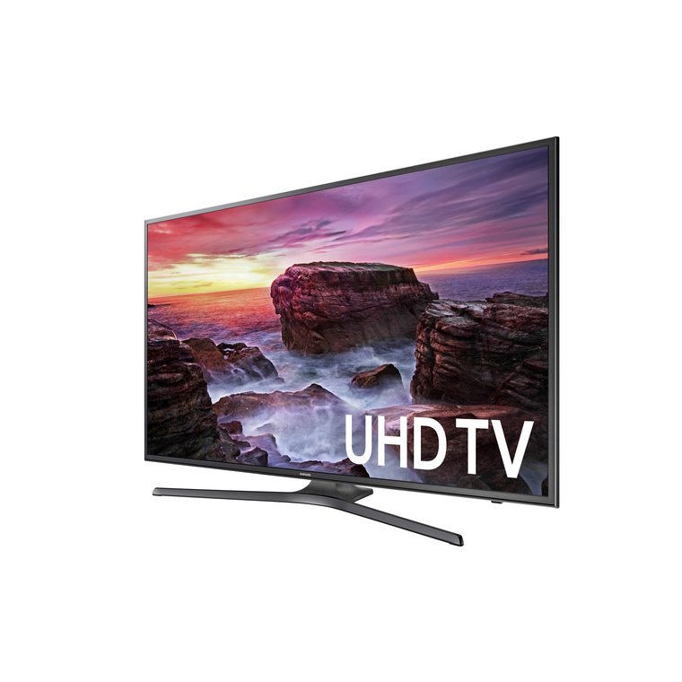 "Paquete de Smart TV UHD 4K de 65"" Class ​​​​​​​ (64.5"" en Diag.) y Base Contemporánea para TV de 65"""
